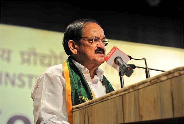 neither i nor modi went to convent it made no difference venkaiah naidu