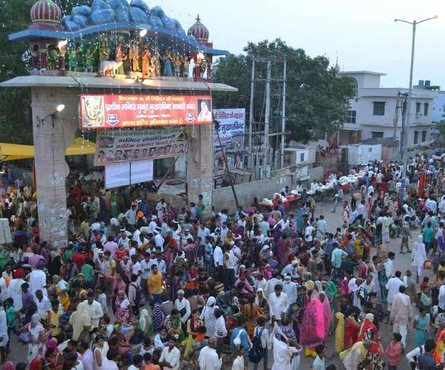 PunjabKesari, Mathura, मथुरा, Govardhans five day mudiya poono lakkhi mela, गोवर्धन का पांच दिवसीय मुड़िया पूनों मेला