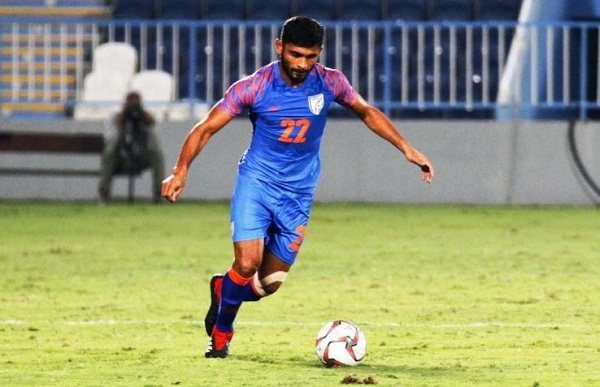 Football news in hindi, Indian football team, Indian goalkeeper, Gurpreet Sandhu, smart during the match, AFC Asian Cup