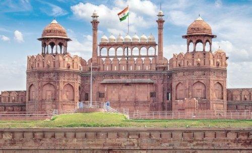 PunjabKesari, गणतंत्र दिवस फोटो, लाल किला इमेज,red fort image, republic day image