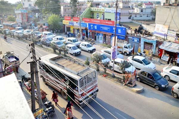PunjabKesari, Traffic Jam Image