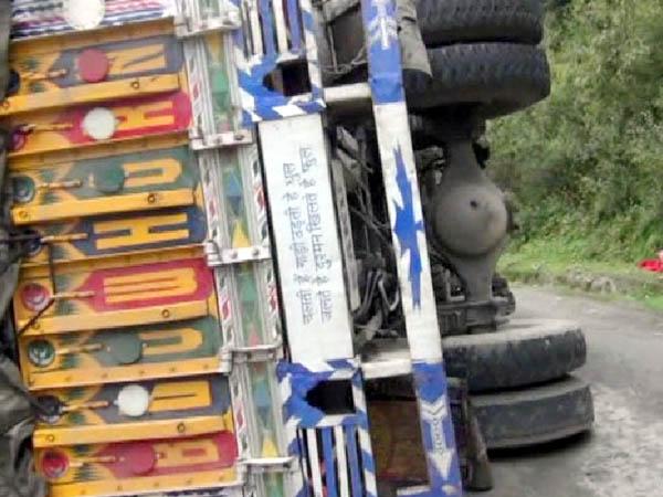 Punjabkesri, Truck Accident Image