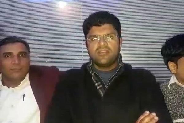 PunjabKesari, jind bypoll, dushaynt choutala, jjp, election, congress, inld