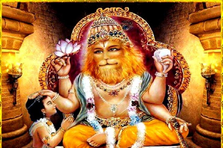PunjabKesari, Lord Narasimha, Lord Narsingh, Narasimha temple, Lord narasimha favourite food, Lord narasimha significance, Lord Narasimha prayers benefits, worship of narasimha, नृसिंह, भगवान नृसिंह, Worship of narasimha at home