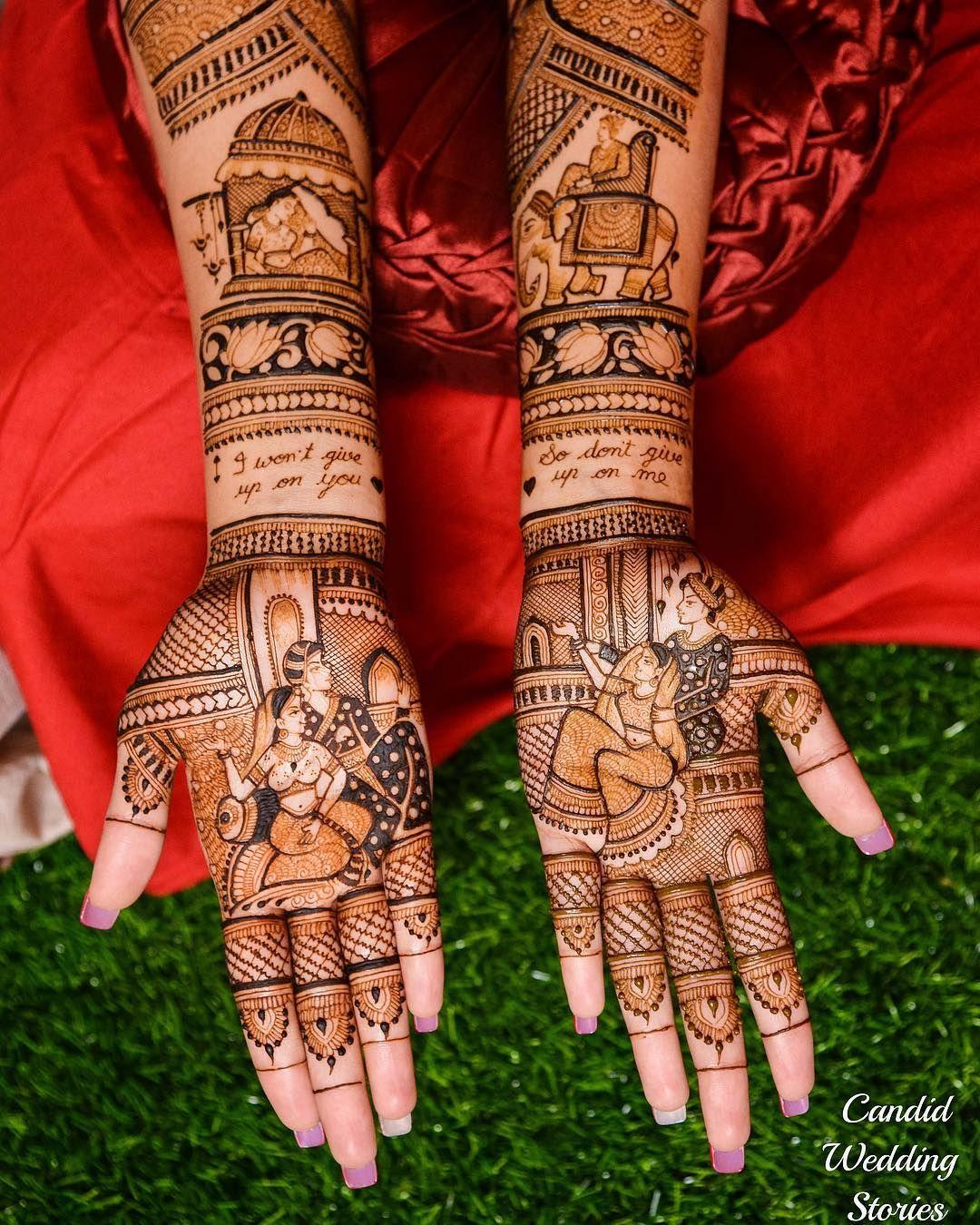 PunjabKesari, Nari, Latest and Simple Mehndi Design Image, लेटेस्ट एंड सिंपल पोट्रेट मेहंदी डिजाइन इमेज