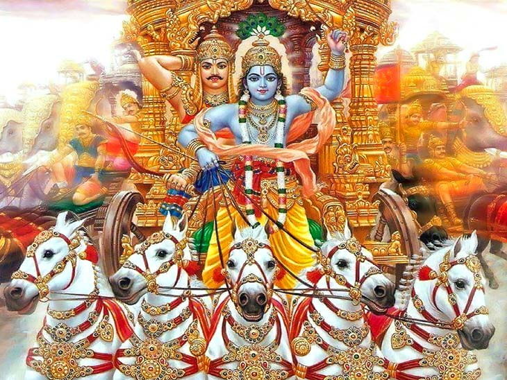 PunjabKesari, Shri Madh Bhagwat Geeta, Shri Madh Bhagwat Geeta Gyan, Bhagwat Geeta, Importance of Shri Madh Bhagwat Geeta, Shri Madh Bhagwat Geeta Shaloka, Dharmik Concept, Religious Concept, Hindu Shastra Gyan, Punjab Kesari, Dharm, Sri Krishna, Arjun, Mahabharat