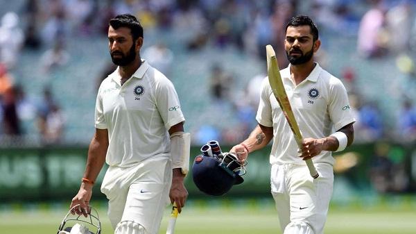 sports news, Cricket news in hindi, Ind vs Aus, Indian won melbourne test, captain Kohli, Believe, Flexibility change in game, Cheteshwar Pujara batting
