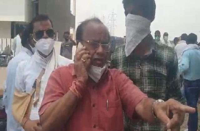 PunjabKesari, Madhya Pradesh, Indore, Bhopal, Cash for votes, AVM in car, Damoh by-election, BJP, Congress, Kamal Nath