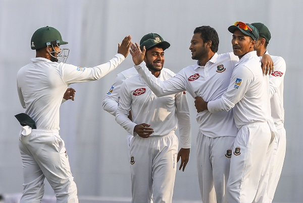 Bangladesh Test Team Image