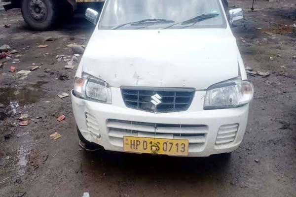 PunjabKesari, Car Accident Image