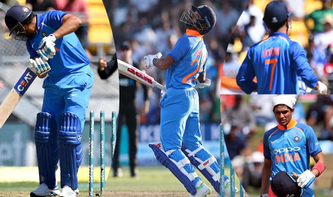NZvIND 5th ODI Team India Middle Order