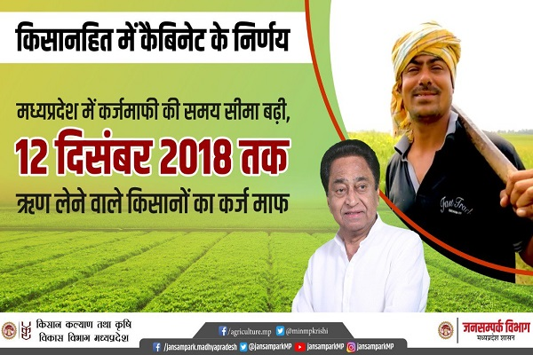 PunjabKesari, Madhya Pardesh Hindi News, Bhopal Hindi News, Bhopal Hindi Samachar, CM Kamalnath, Cabinet Meating, Farmer's debt waiver