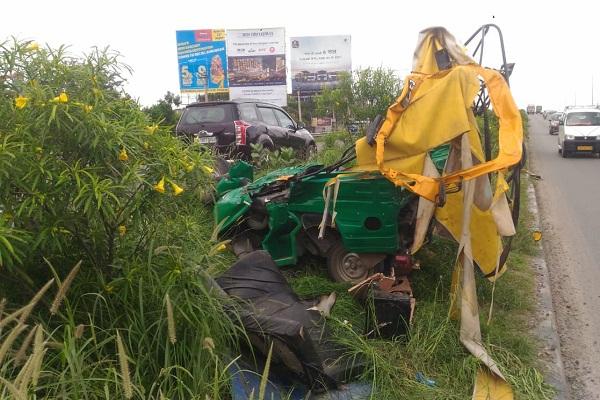 PunjabKesari, road accident