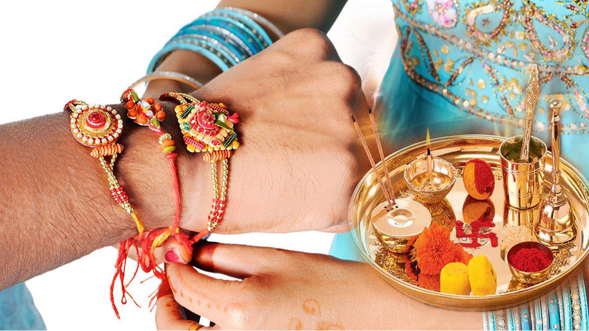 PunjabKesari, Raksha bandhan, Raksha bandhan 2019, Raksha bandhan shubh muhurat, रक्षा बंधन, राखी का मुहूर्त, राखी की पूजा विधि, राखी मंत्र, Raksha Bandhan Mantra