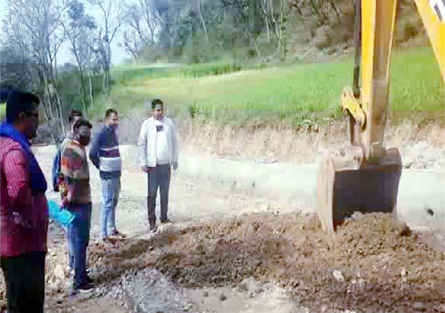 PunjabKesari, Road Work Image