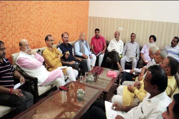 PunjabKesari, BJP Meeting Image
