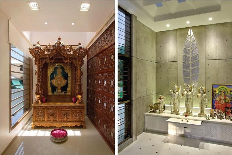 Image result for बाथरूम की बगल में mandir