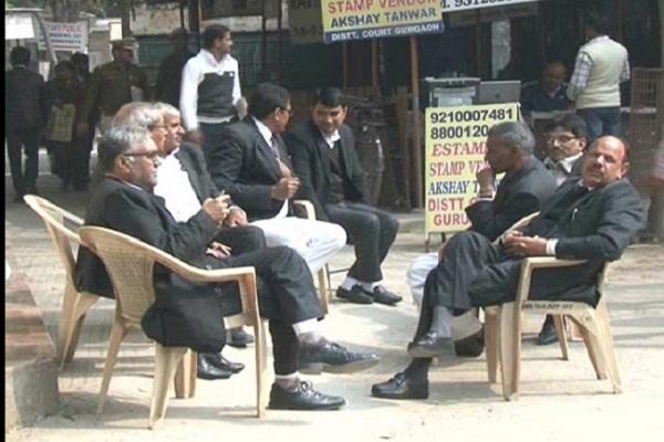 PunjabKesari, advocates, strike, demand, court