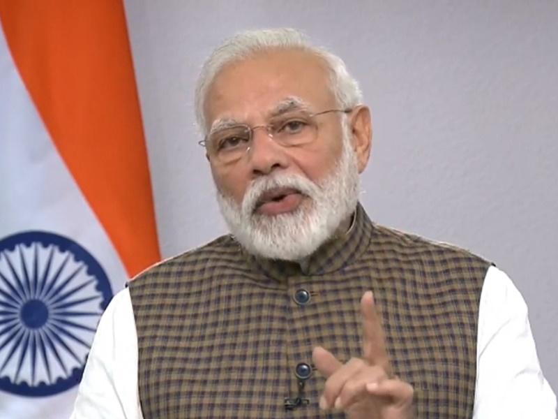 PunjabKesari Pm Modi reads Chankya Niti shloka in Man ki Baat
