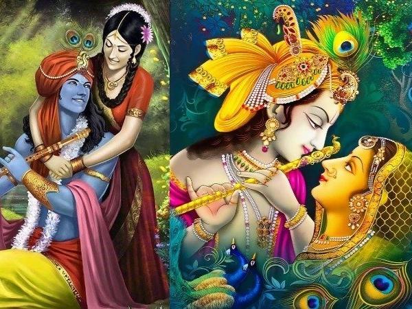 PunjabKesari, Radha krishan, श्री कृष्ण राधा