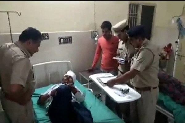 PunjabKesari, police, crime, bike, rider