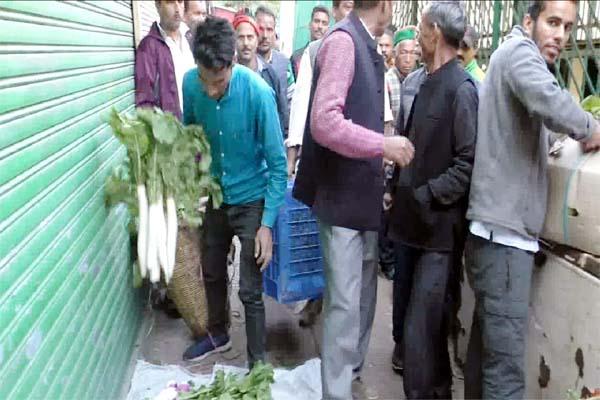 PunjabKesari, Vegetable Market Image