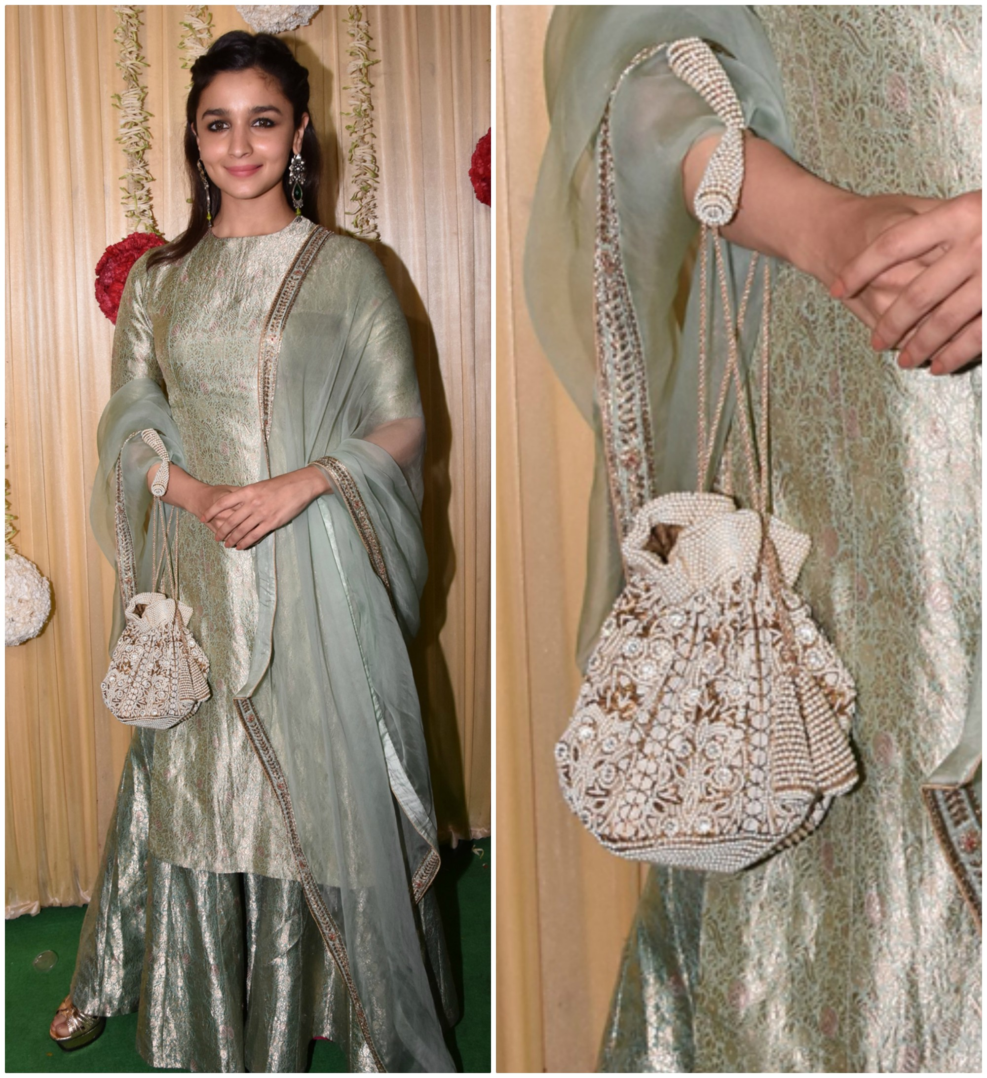 PunjabKesari, Latkan Style Polti Bag Design Image, लटकन स्टाइल पोटली बैग डिज़ाइन इमेज