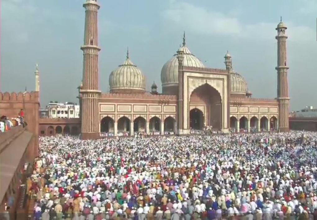 PunjabKesari, Eid ul fitr, Eid 2019, Eid, Ramzan Ends, Ramadan Ends, Namaz