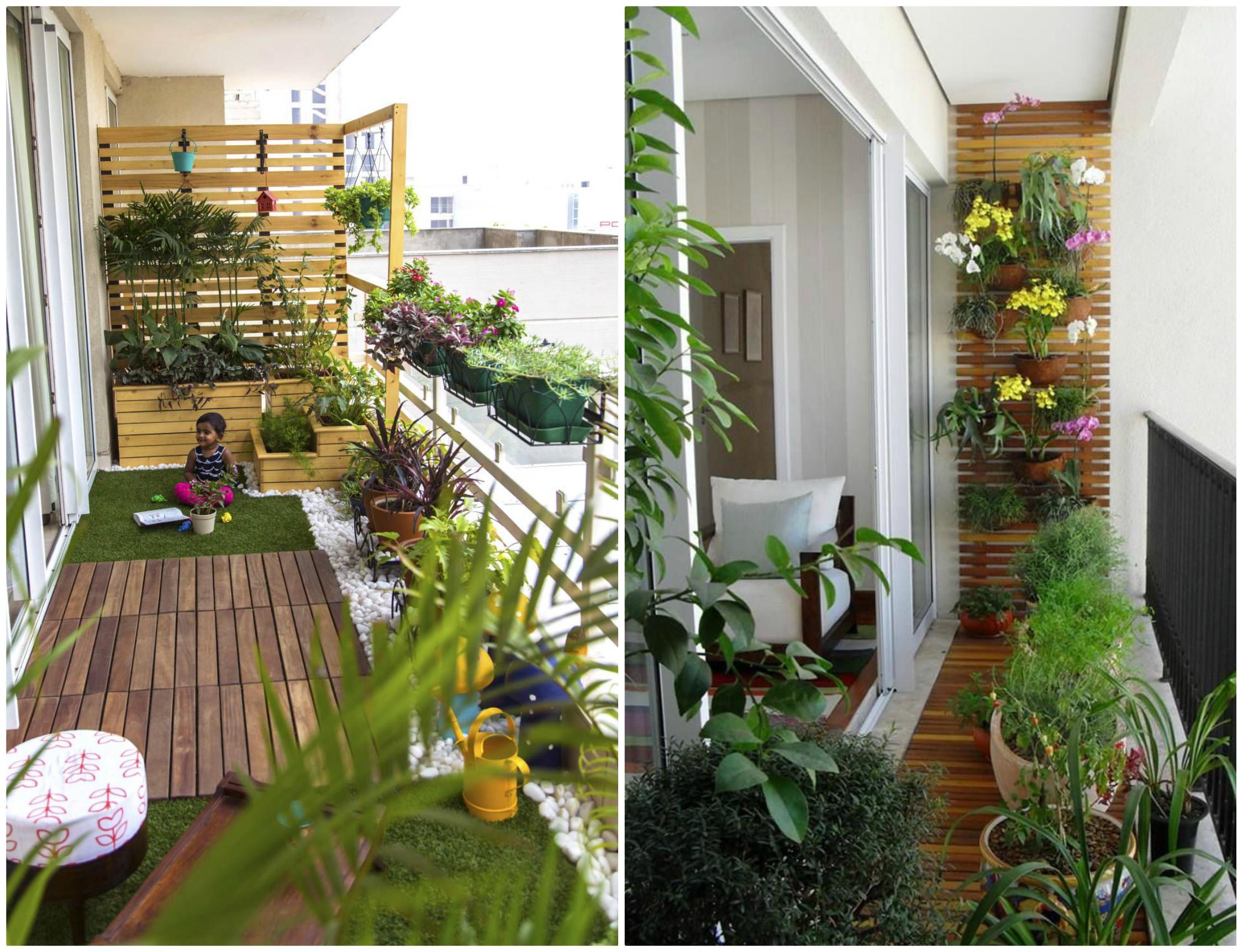 PunjabKesari, Balcony Decoration, Balcony Decoration Ideas, Narikesari