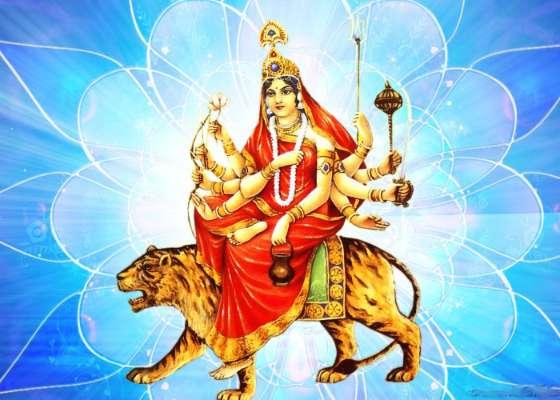 PunjabKesari, Chaitra navratri, Chaitra navratri 2019, Navdurga, Devi Durga, Devi Chandraghanta,