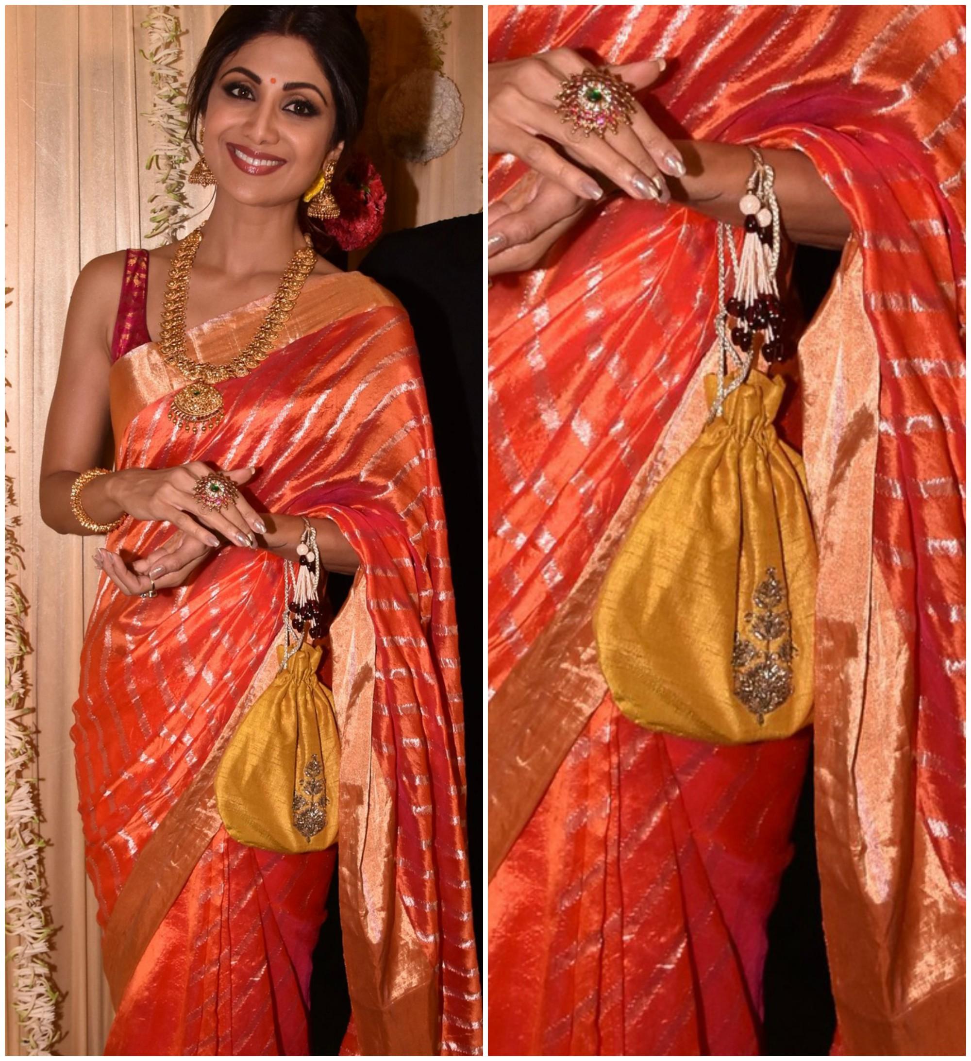 PunjabKesari, Silk Fabric Polti Bag Design Image, सिल्क फैब्रिक पोटली बैग डिज़ाइन इमेज