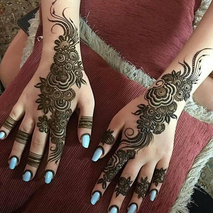 arabian new mehndi ki design