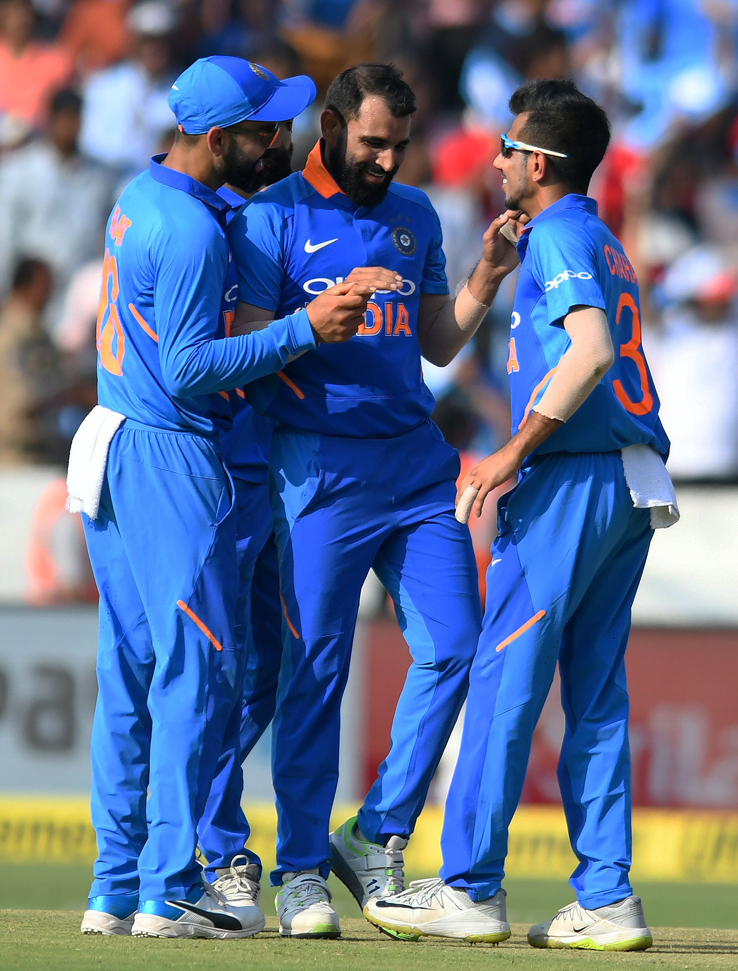 Mohammed shami take one third of wicket of his career by bold