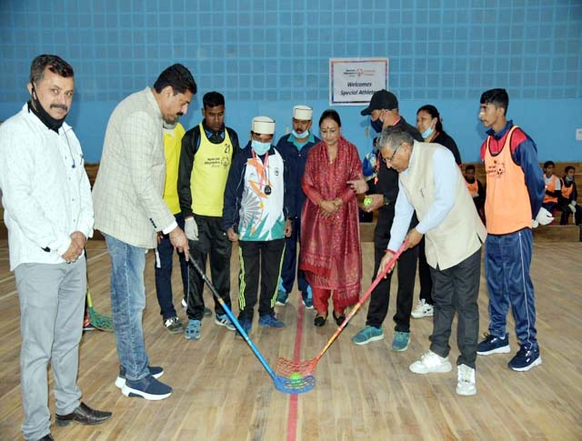 PunjabKesari, Floorball Training Camp Image