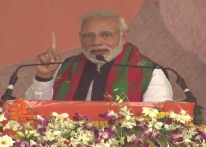 PunjabKesari, Madhya Pardesh Hindi News,Bhopal Hindi News, Bhopal Hindi Samachar, odisha, PM Modi, Rally, Attack, Congress, CM Kamalnath, Vande matram, पीएम मोदी का कमलनाथ पर हमला