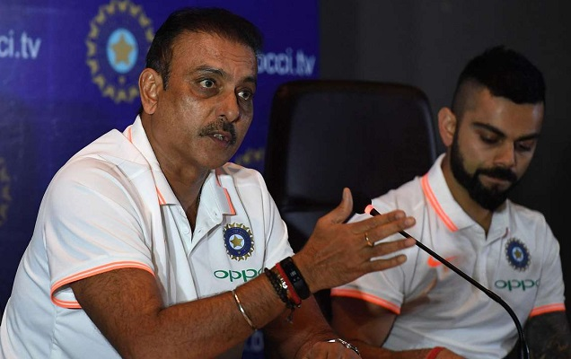 shastri and kohli image