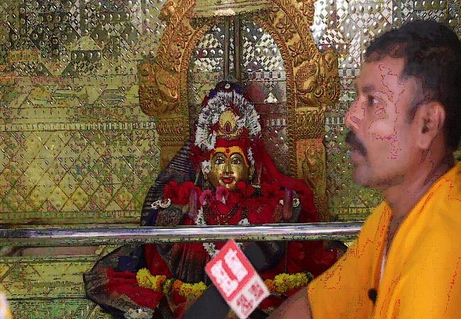 PunjabKesari, Gaon Devi Mata Mandir, Gaon Devi Mata Mandir Mumbai, Shardiya Navratri 2020, Shardiya Navratri, Gaon Devi Mata Mandir Parhur Parhurpada, Dharmik Sthal, Religious Place in india, Hindu teerth Sthal, Punjab kesari, Dharm