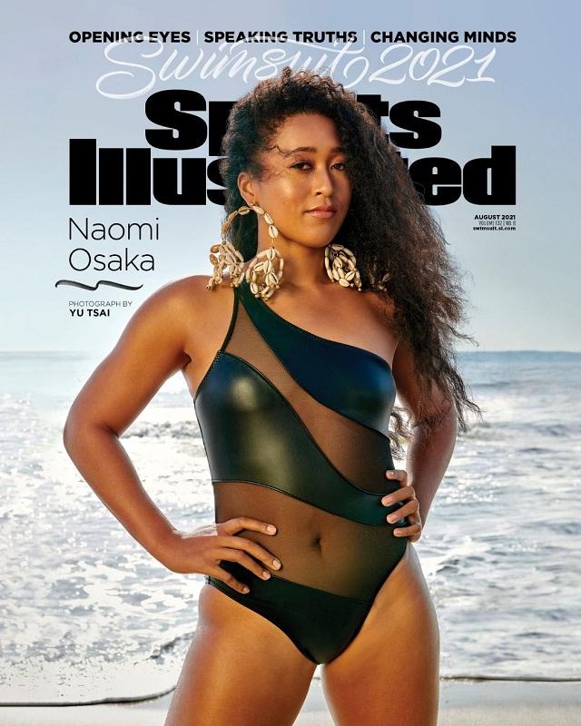 SI, Naomi Osaka, Sports Illustrated, नाओमी ओसाका, स्पोर्ट्स इलस्ट्रेटेड, एसआई स्विमसूट, SI Swimsuit, Tennis news in hindi, sports news
