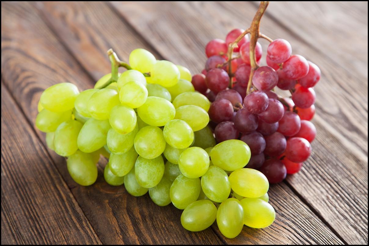 PunjabKesari, grapes image
