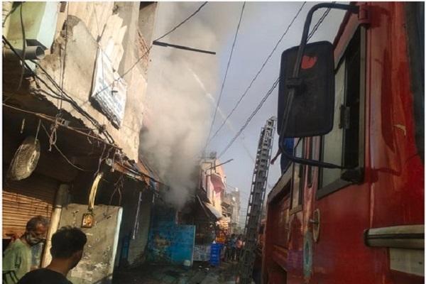 PunjabKesari, Four, people, Accident, two, Children