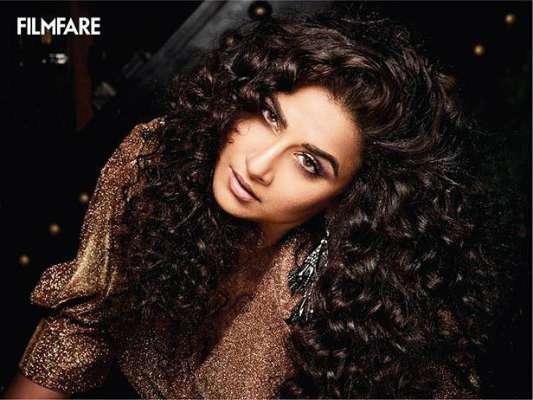 PunjabKesari, Vidya Balan, Bollywood Actress, विद्या बोल्ड फोटोशूट, Vidya Balan Photoshoot Image
