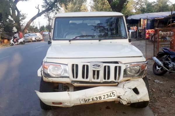 PunjabKesari, Road Accident Image