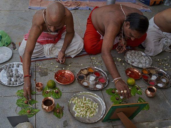 PunjabKesari, Pitru Paksha, Pitru Paksha 2020, Shradh, Shardh paksha 2020, Shradh Paksha, Kusha, Kusha used in Shradh, Kusha Importance, Religious Significance of Kusha, Scientific importance of kusha, Kusha mantra, kusha Mantra in hindi