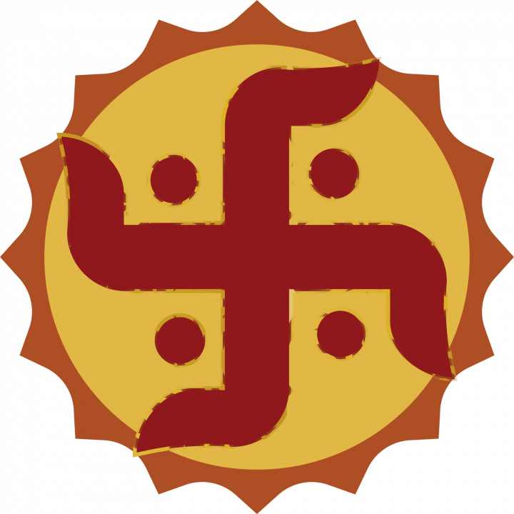 PunjabKesari, स्वास्तिक, Swastika, Importance of Swastika, Swastika direction, Swastika connection with direction, Hindu Shastra, Hindu Shastra gyan, Shastra Gyan in hindi, Punjab Kesari, Dharm, Dharmik Concept