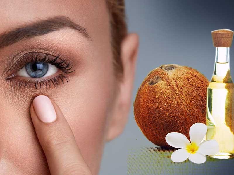 PunjabKesari, Coconut Oil For Dark Circles Image, Dark Circles Image