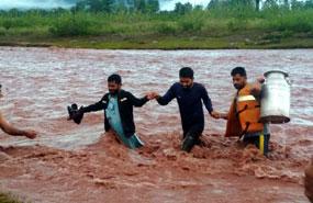 rain water lodge in kathua