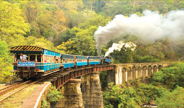 PunjabKesari, Nari, Toy Train Image, Nilgiri Mountain Railway Image