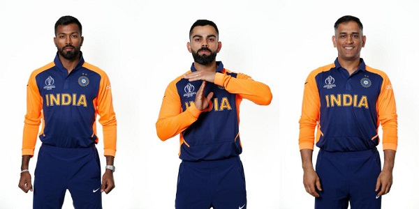 Team india new jersey going viral on internet