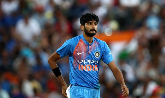 Khaleel Ahmad Team India