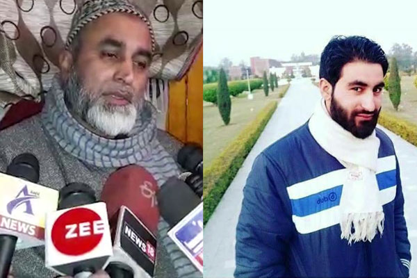 afzal s death sentence is behind manan s militant story said father